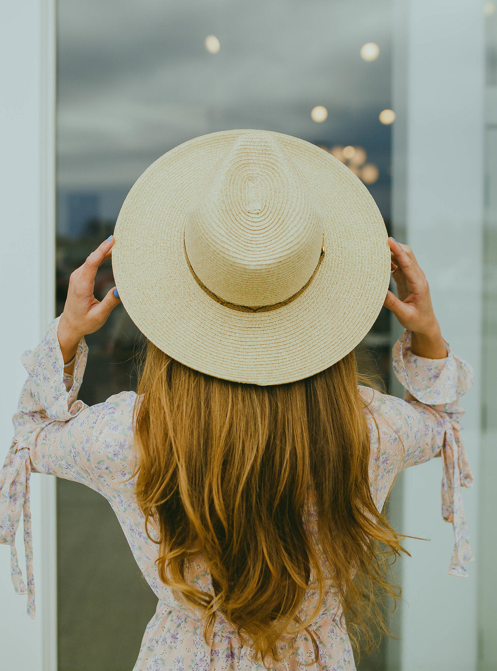Sydney Straw Hat (Natural)
