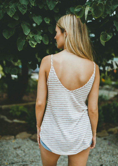 Stir Crazy Striped Tank