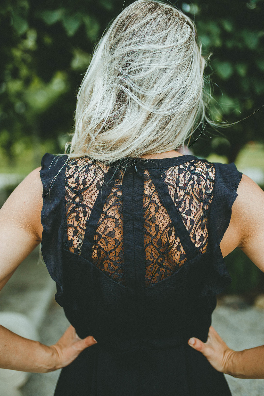 Only This Time Lace Back Dress