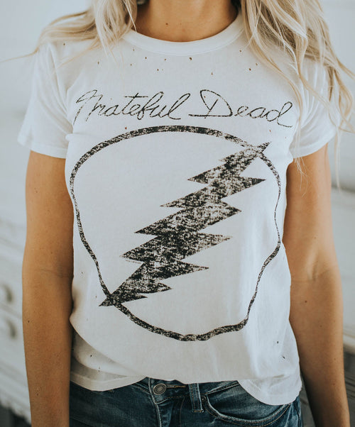 Chaser Distressed Grateful Dead Tee