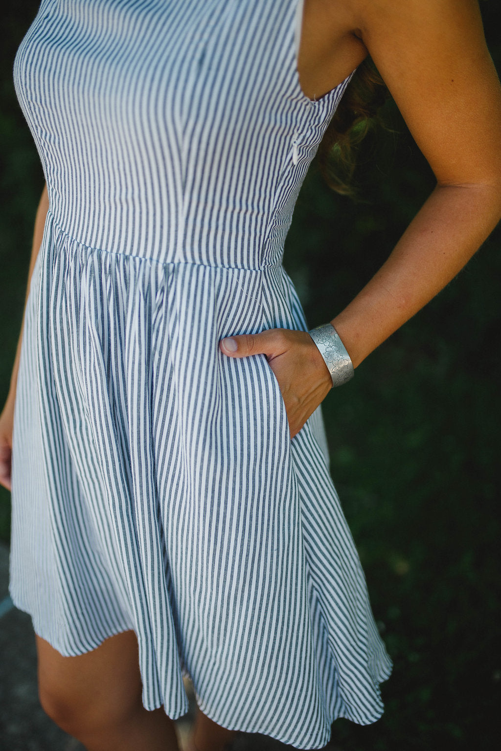 Make A Stand Striped Dress FINAL SALE