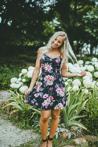Think It Over Floral Dress FINAL SALE