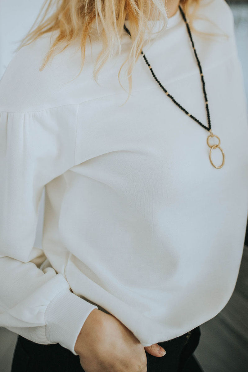 Della Double Ring Necklace