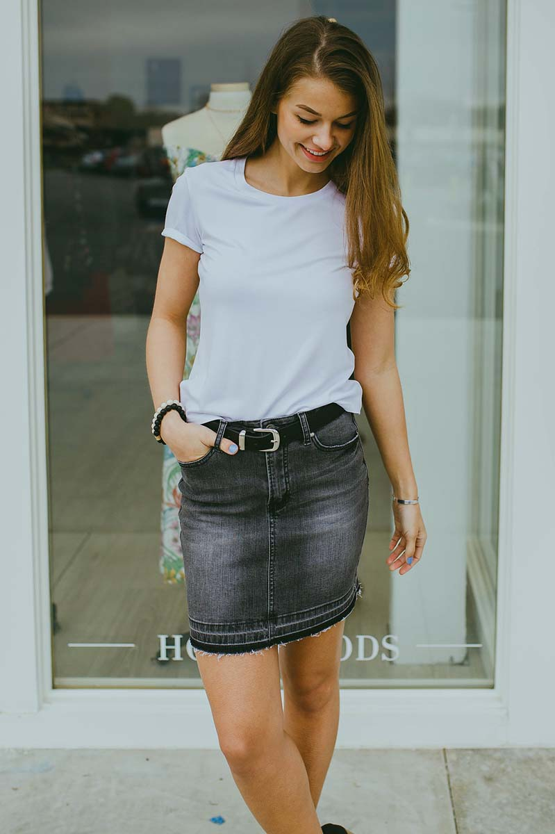 Kelsi Denim Skirt FINAL SALE
