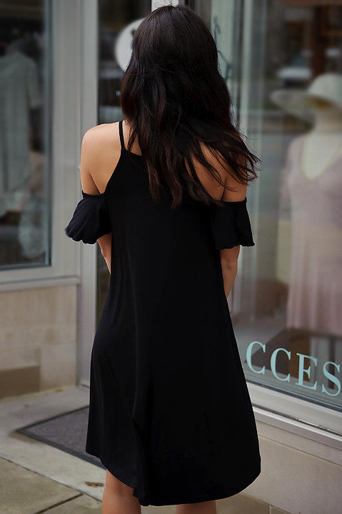 Yes You Will Swing Dress (Black)