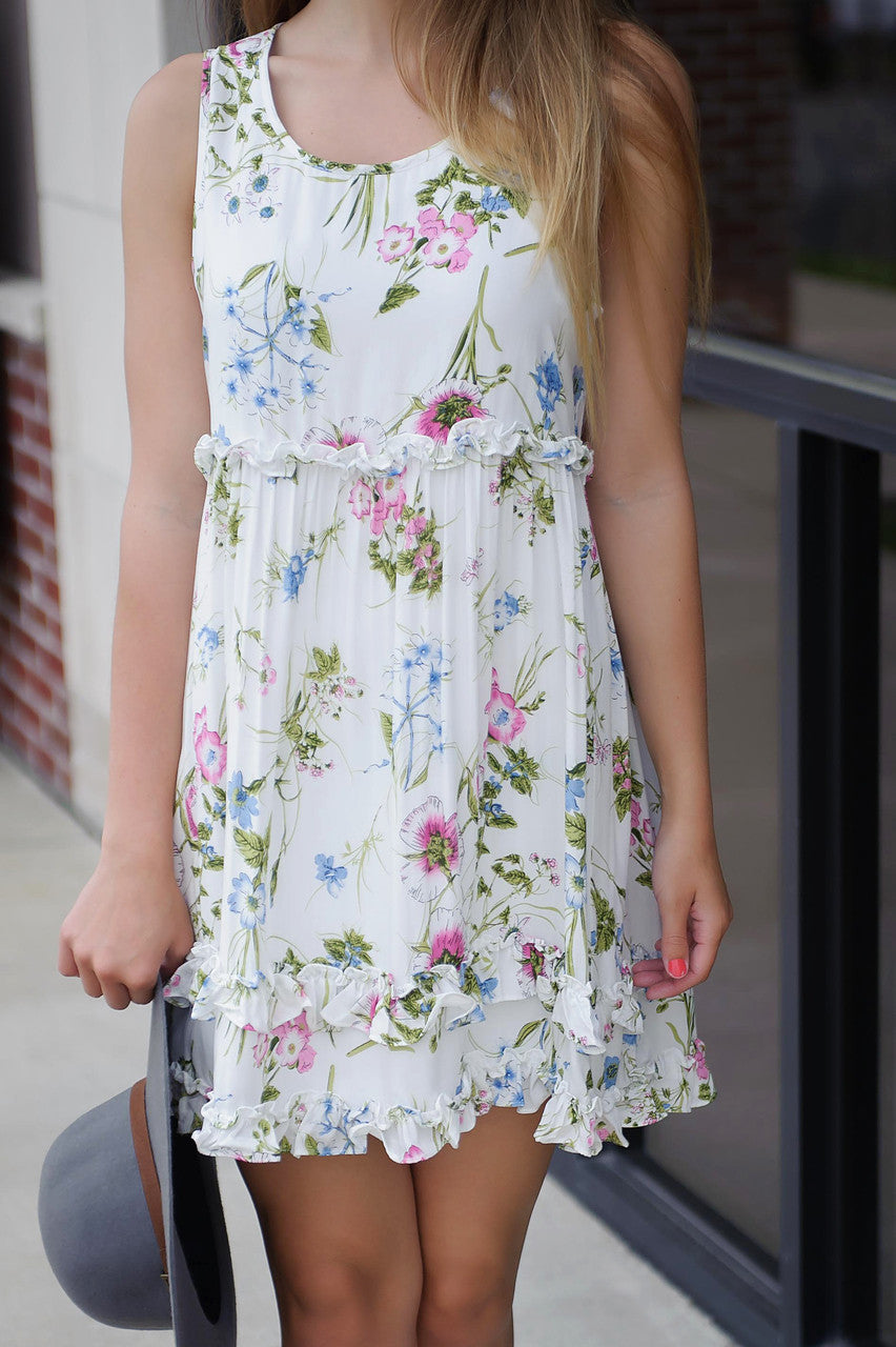 What You Want Floral Dress FINAL SALE