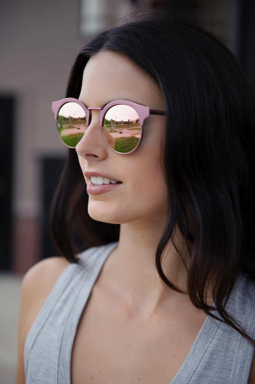 Sunset Lover Sunglasses  (Pink)