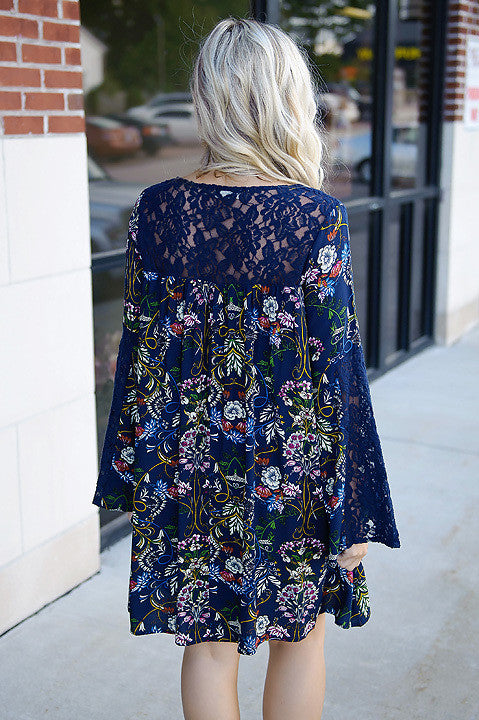 Day To Remember Floral Dress (Final Sale)