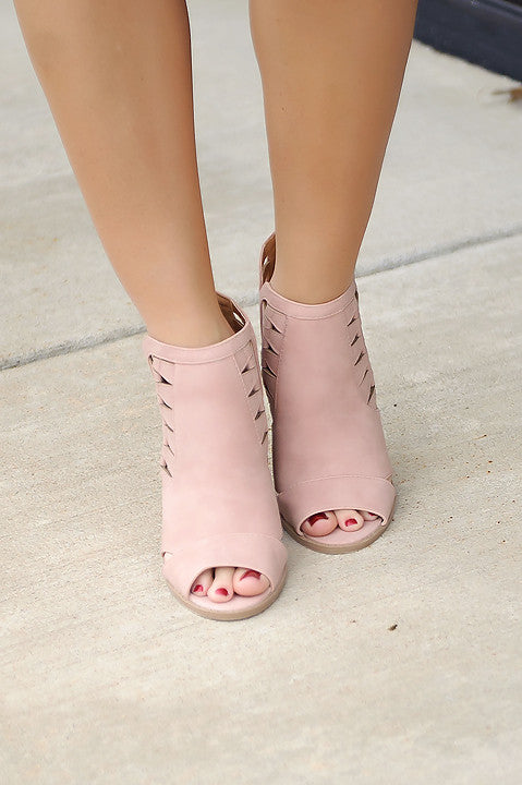 Hamptons Peep Toe Booties