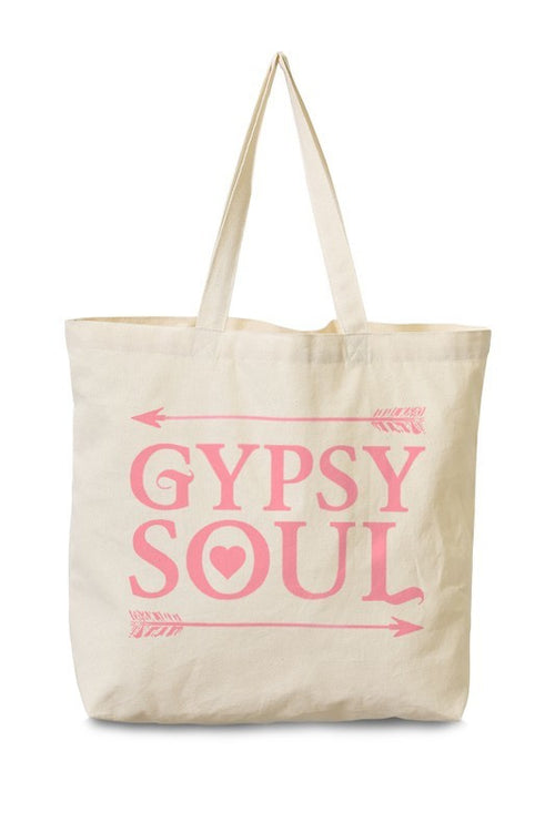 Gypsy Soul Canvas Tote (Final Sale)