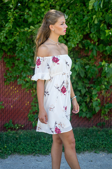 Crushing On You Floral Dress