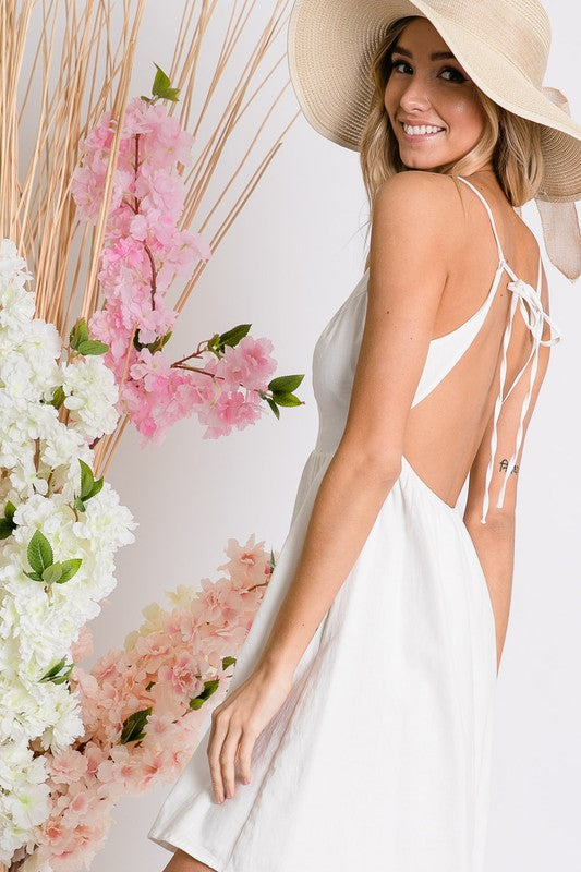 Marlee Open Back Dress