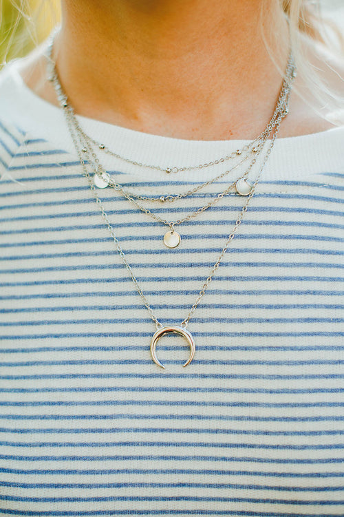 Zoe Triple Layered Necklace