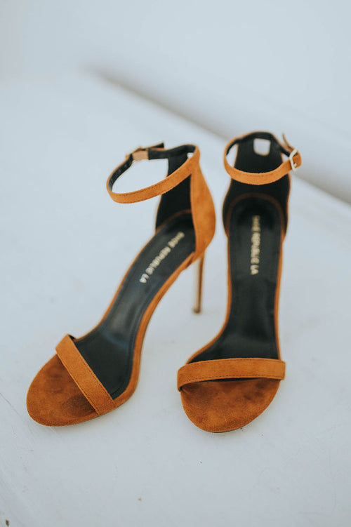 Mia Heel - Rust FINAL SALE