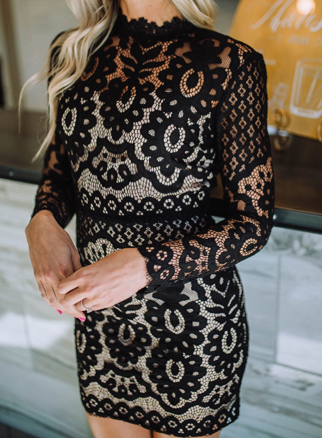 Star Worthy Lace Dress
