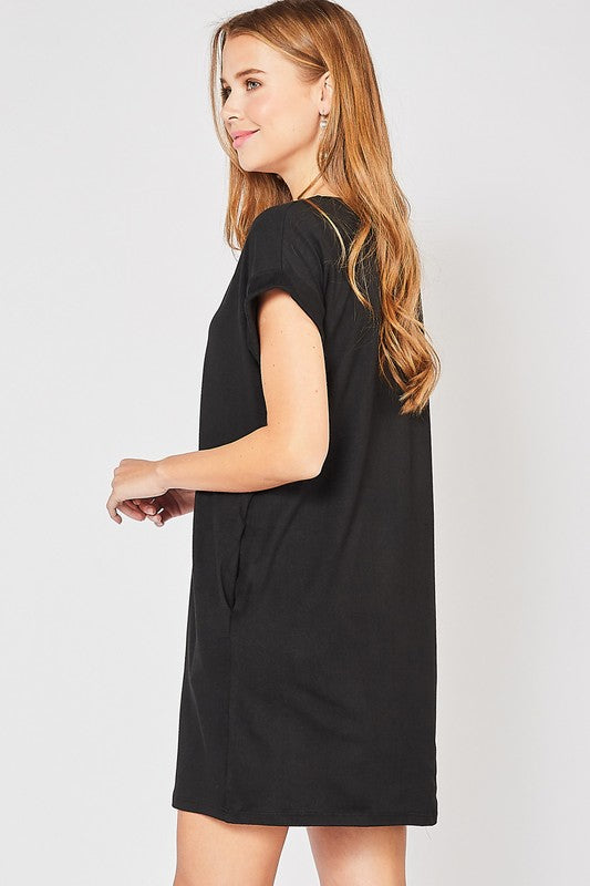 Keep Your Cool Dress (Black)