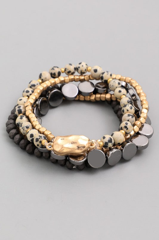 Thompson Multi Bead Bracelet