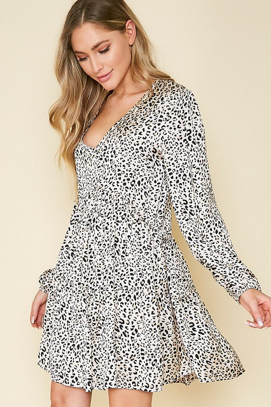 Sienna Animal Print Dress