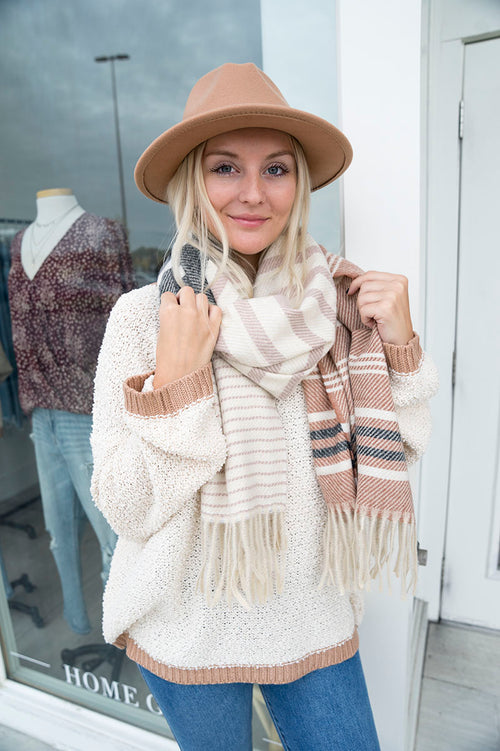 Spencer Stripe Scarf