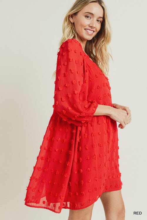 Darling Pom Pom Dress
