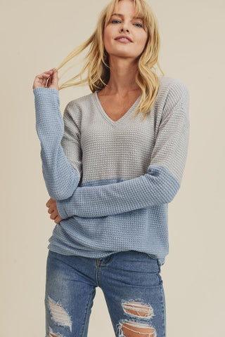 Hayden Ribbed Cardigan (White)