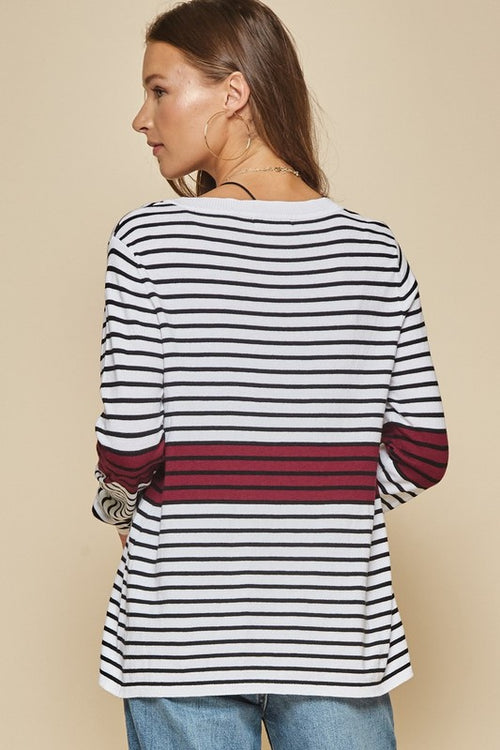 Paxton Stripe Tunic Top