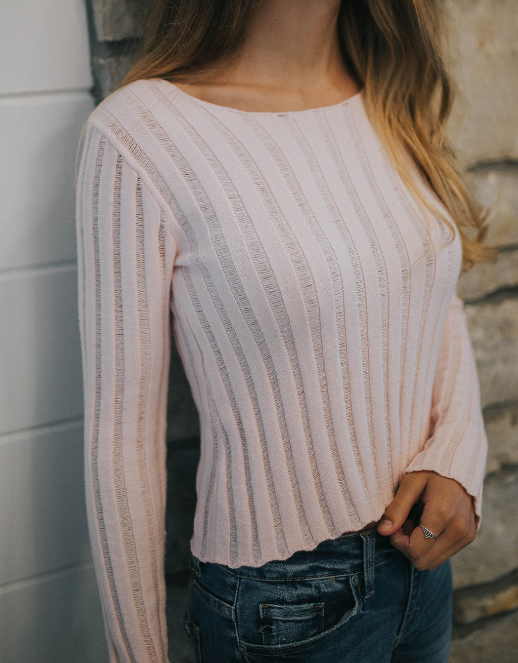 Can't Look Away Knit Sweater