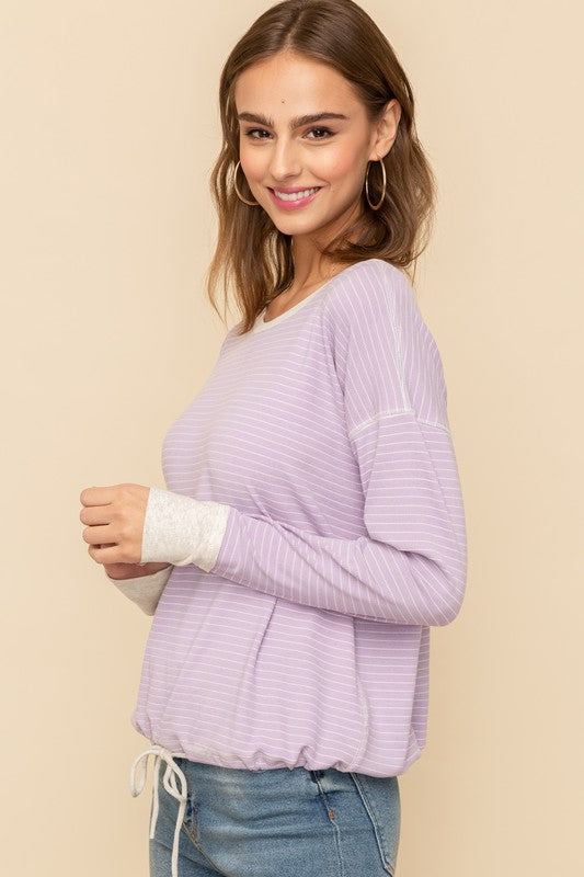Avery Striped Top