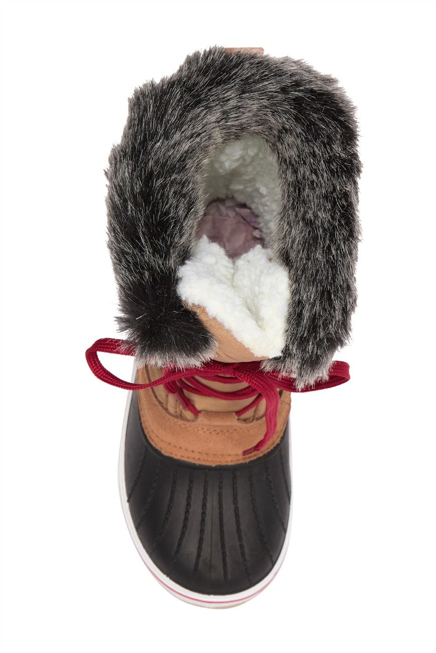 Barklay Fur Trimmed Duck Boot FINAL SALE