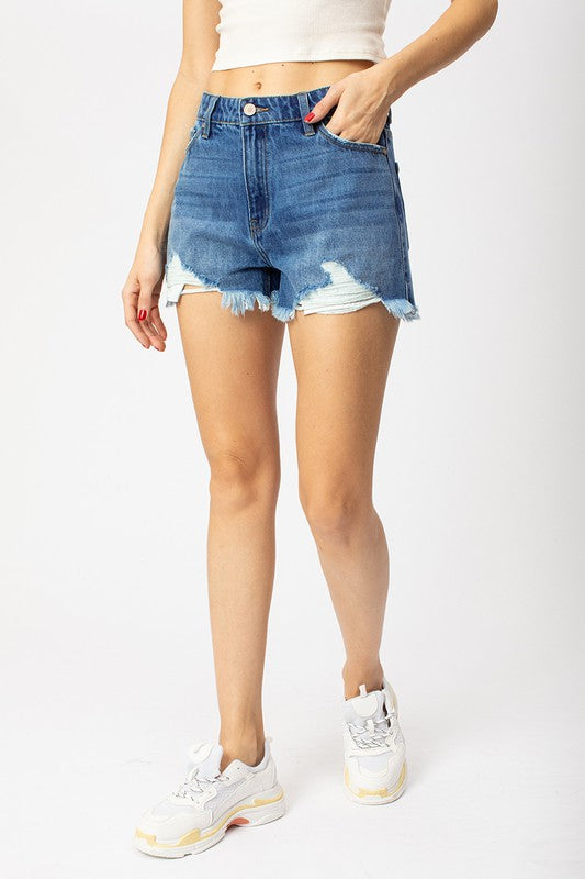 Logan High Waisted Shorts