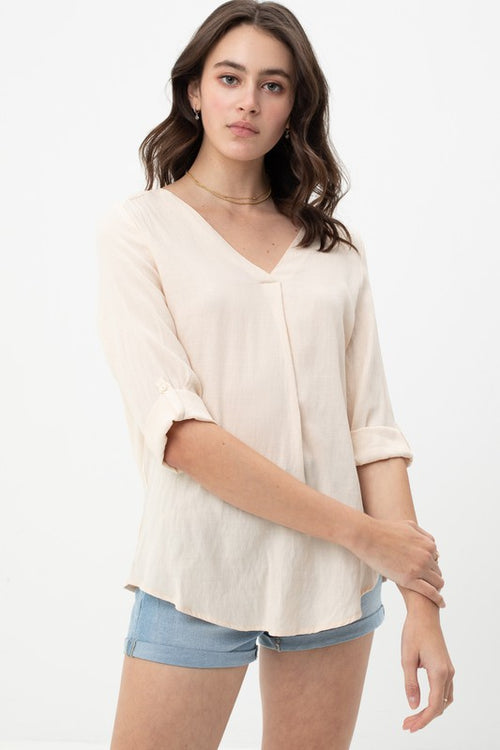 Carlee V-Neck Top