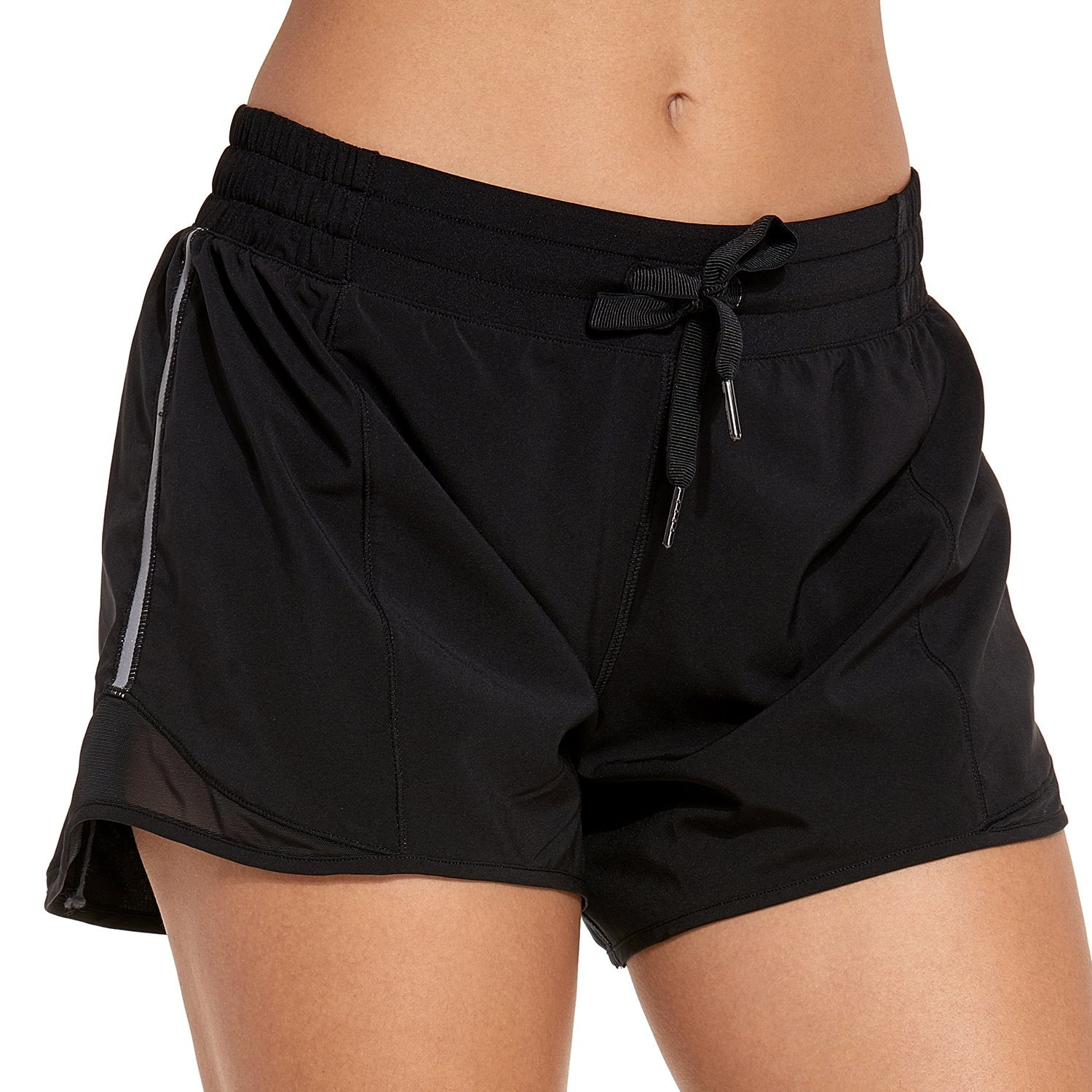 Running Drawstring Shorts 4""