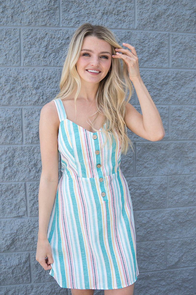Kerry Striped Dress