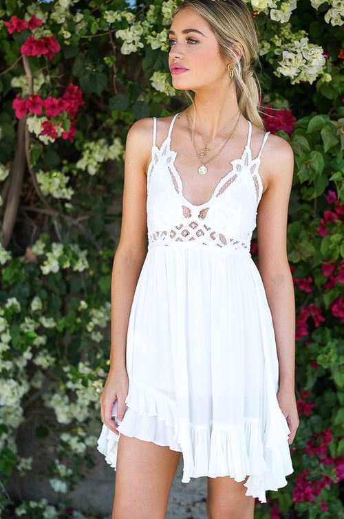 Svetlana Crochet Lace Dress
