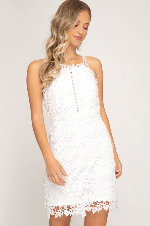 Yvette Lace Bodycon Dress
