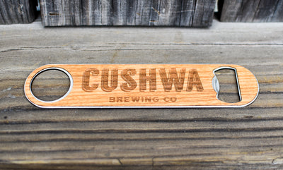 Custom Wood Wrapped Bottle Opener