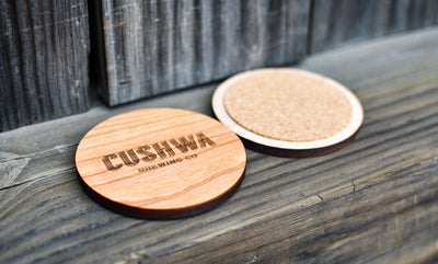 Custom Wood Coaster Set of 4
