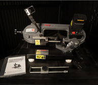 BS-85 Portable Band Saw Review forward from Welding Empire
