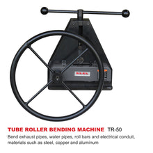 Load image into Gallery viewer, TR-50 Manual Tube Pipe Roller Bender, High Precision Tubing Bender, Easy Operation Pipe Bender