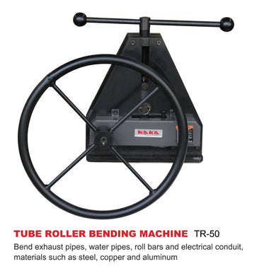TR-50 Manual Tube Pipe Roller Bender, High Precision Tubing Bender, Easy Operation Pipe Bender