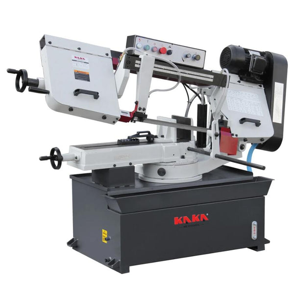 "KAKA Industrial BS-1018R 10"" Metal Cutting Band Saw Machine 220V-60HZ-1PH"