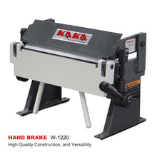 Load image into Gallery viewer, Free Shipping! KAKA Industrial W-1220 12-Inch Sheet Metal Hand Brake