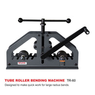 KAKA Industrial TR-60 Tube Roll Bender, Versatility Bender, High adjustability