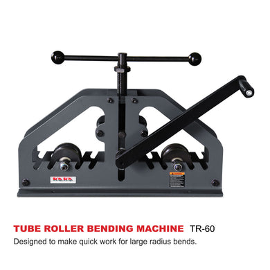FREE SHIPPING! KAKA Industrial TR-60 Tube / Pipe Roll Bender, Versatility Bender, High adjustability