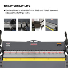 Load image into Gallery viewer, KAKA Industrial W-4812 48-Inch Heavy Duty Sheet Metal Pan And Box Brake