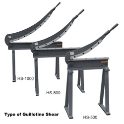 KAKAIndustrial  HS-40 Guillotine Shear 16 Gauge Sheet Metal Fabrication Plate Cutting Cutter