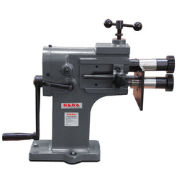KAKA Industrial TB-12 8-Inch Heavy-Duty Bead Bender, 18 Gauge Thickness, Cast-Iron Sheet Metal Rotary Forming Machine