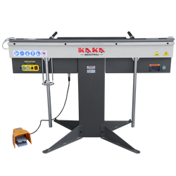 EB-5216 Manual Magnetic Sheet Metal Brake, 52-Inch Pan and Box Bending Brake, 1-Phase 220V, 16-Gauge Mild Steel Capacity