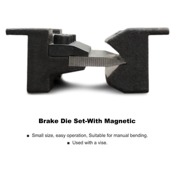 KAKA Industrial BDS-6 6 Inches Vise Brake Die Set, Magnetic Vise Mount