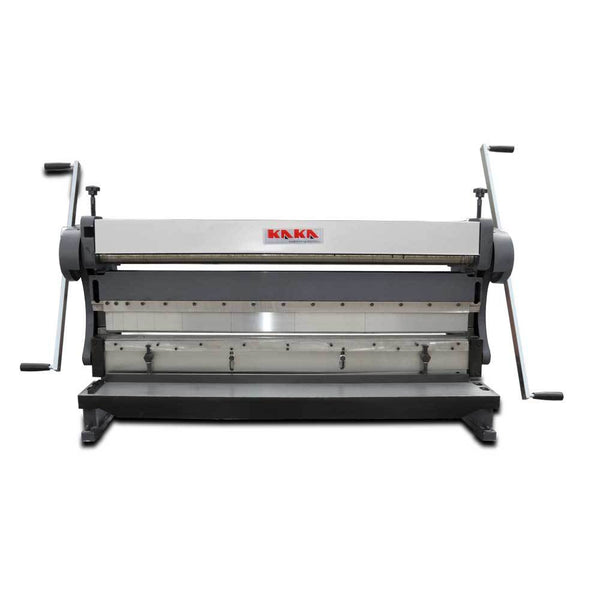 KAKA 3-IN-1/5216 ,52-Inch 16 Gauge Sheet Metal Brake, 3-In-1 Shear Brake Roll Combinations